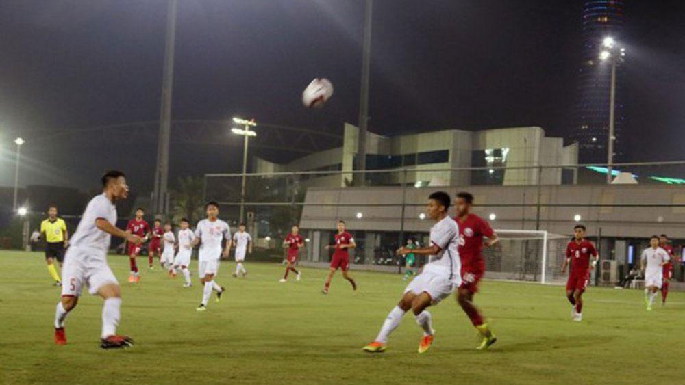 U19 Việt Nam thua đậm ở trận ra quân giải tứ hùng trên đất Qatar