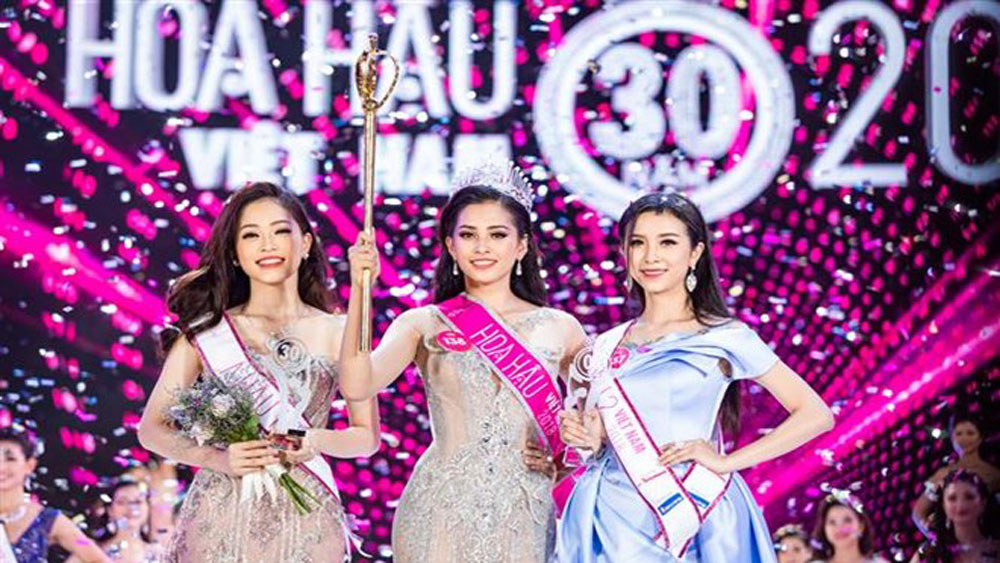 Quang Nam province's girl crowned Miss Vietnam 2018