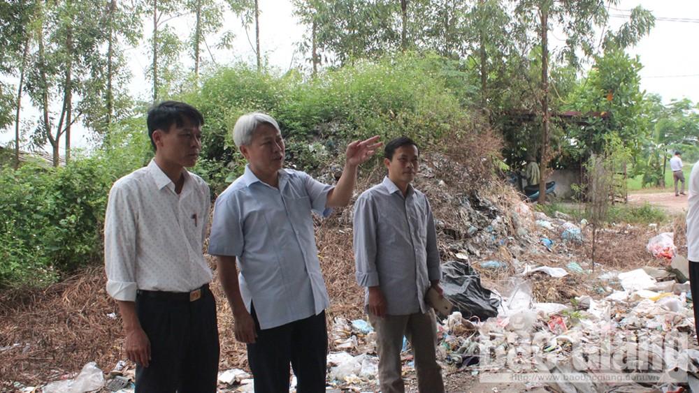 Gắn phát triển sản xuất, với bảo vệ môi trường, Bắc Giang, Từ Minh Hải, HĐND tỉnh