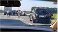 Tài xế Lexus biển tứ quý 8 bị xe tải đâm tử vong khi đang làm việc với cảnh sát giao thông