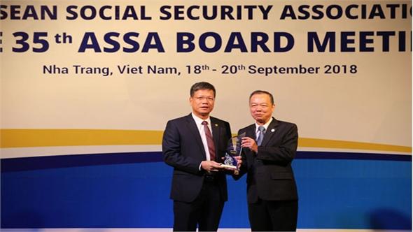 Hội nghị Ban Chấp hành Hiệp hội An sinh xã hội ASEAN lần thứ 35: Trao 17 giải thưởng ASSA