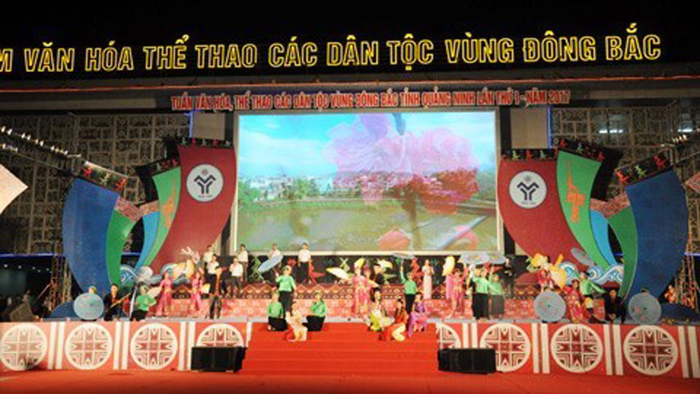 Quang Ninh province, culture week, culture of ethnic groups, culture and sports week, folk and music festival, modern dance, sports dance performances, traditional boat race