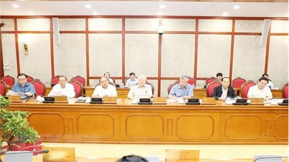 Bộ Chính trị họp về các đề án chuẩn bị trình Hội nghị T.Ư 8 (khóa XII)