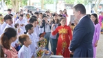 Children with disabilities celebrate Mid-Autumn Festival with US envoy