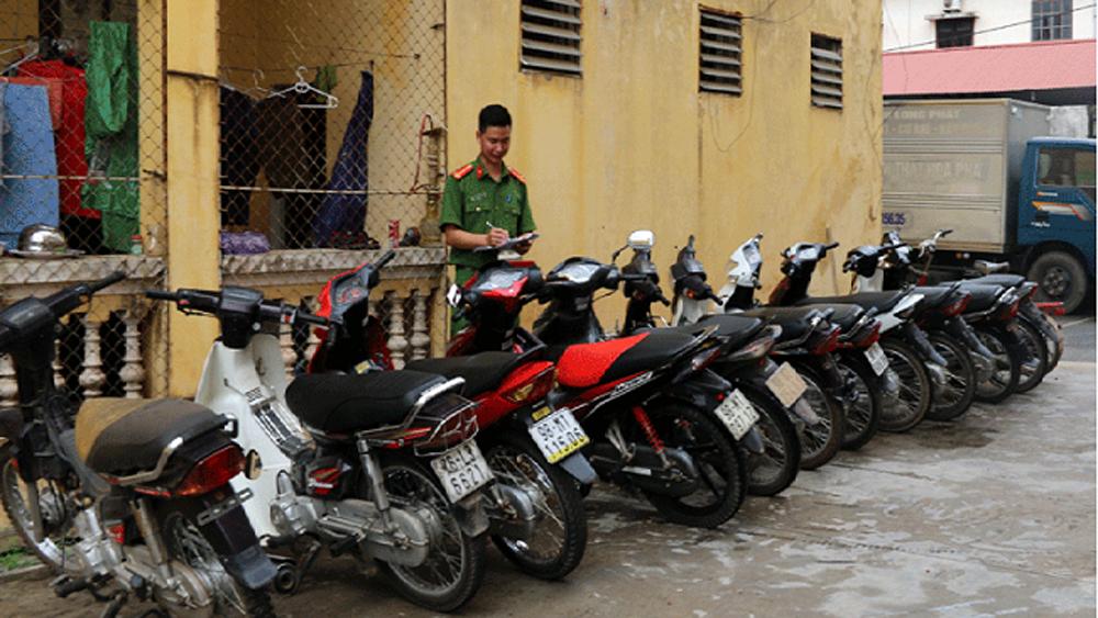 Công an TP Bắc Giang bắt đối tượng trộm cắp tài sản