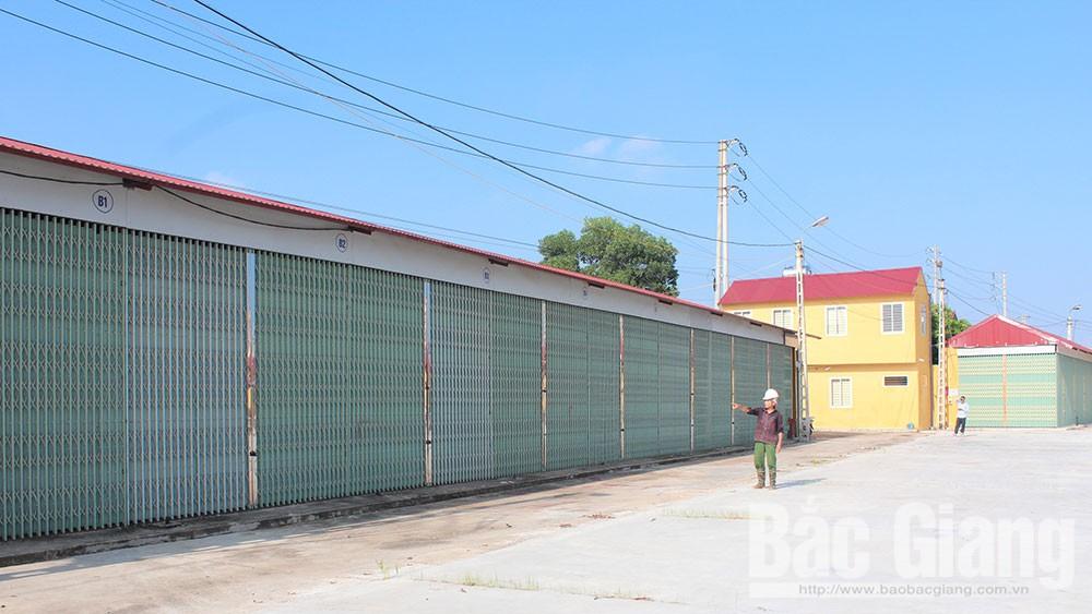 Nhiều chợ ở TP Bắc Giang hoạt động kém hiệu quả