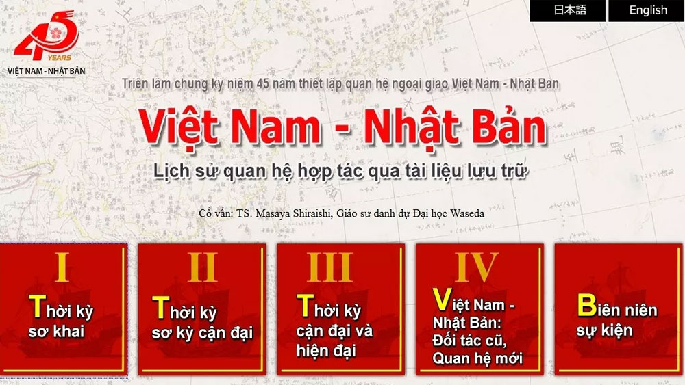 Web archive on history of Vietnam-Japan cooperation launched