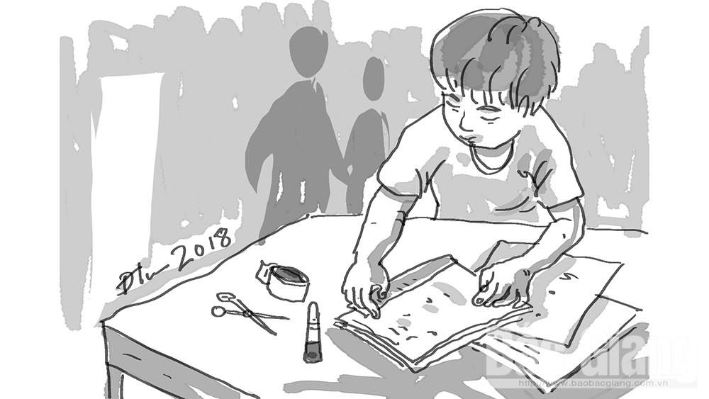 Tập giấy nháp của con, cuốn vở, học sinh, giáo viên, ba mẹ