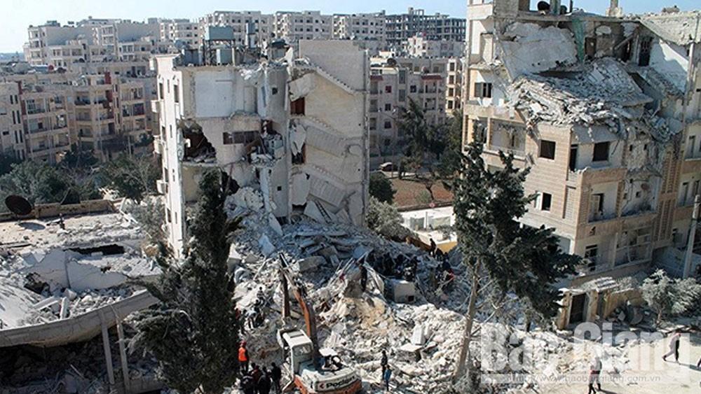 Tấn công, chảo lửa Idlib, Syria, đặt dấu chấm hết, cuộc xung đột