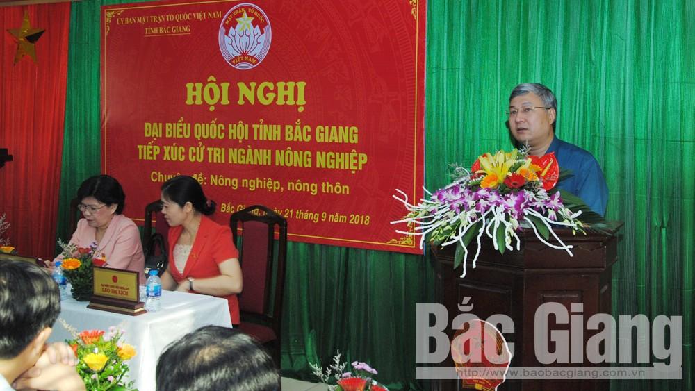 Đoàn đại biểu Quốc hội tỉnh lấy ý kiến đóng góp vào hai dự thảo luật