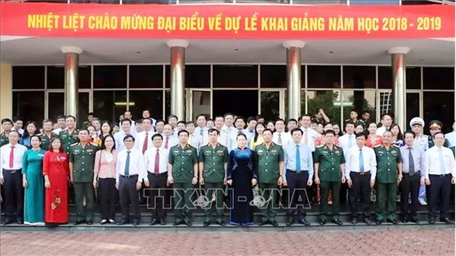 NA Chairwoman launches new school year at National Defence Academy