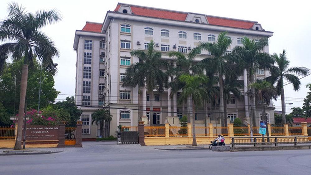 Kỷ luật lãnh đạo các huyện Hà Trung, Tĩnh Gia và Sở Nông nghiệp và PTNT tỉnh Thanh Hóa