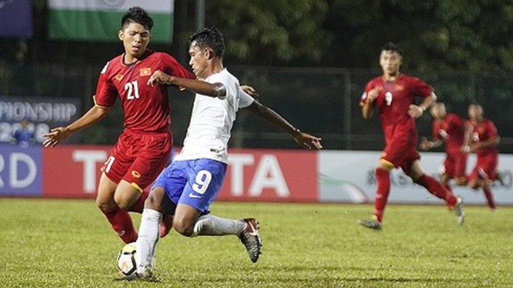 U16 Việt Nam thua 0-1 trước U16 Ấn Độ