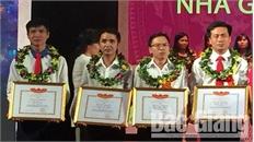 9/10 giáo viên Bắc Giang đoạt giải tại Hội giảng Nhà giáo giáo dục nghề nghiệp toàn quốc