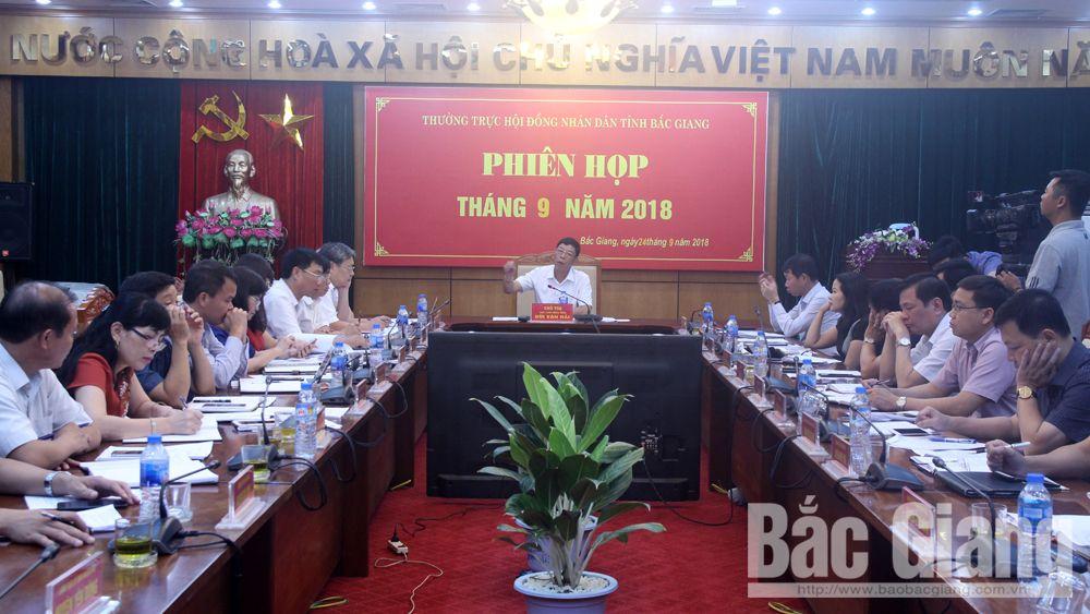 HĐND, thường kỳ, giáo dục, trường trọng điểm chất lượng cao, Sở giáo dục và Đào tạo Bắc Giang,