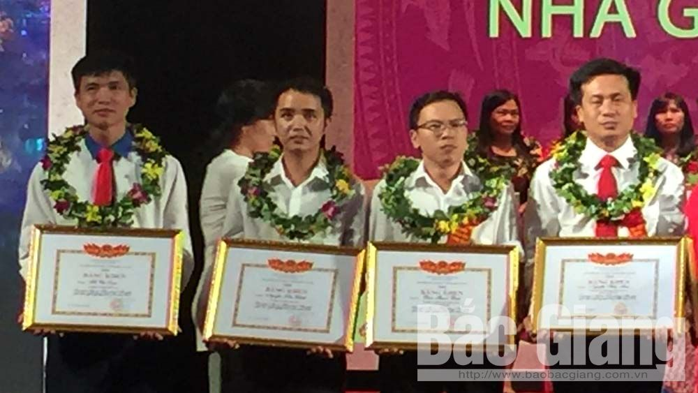 Bac Giang's teachers win high prizes at national teaching festival for vocational teachers