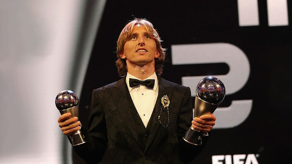 Đánh bại Ronaldo và Salah, Modric giành danh hiệu cầu thủ xuất sắc nhất thế giới