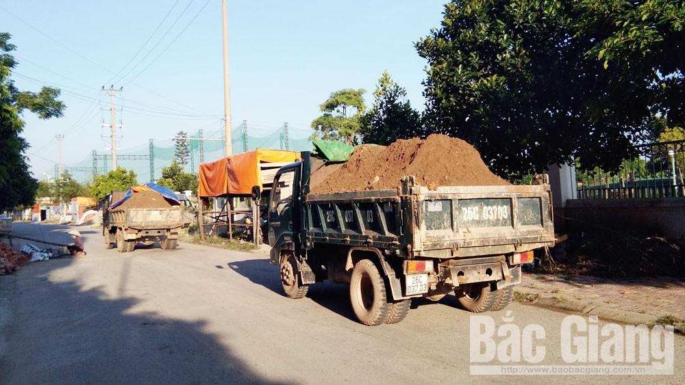 Bắc Giang, tải trọng phương tiện, xe quá tải, tuần tra