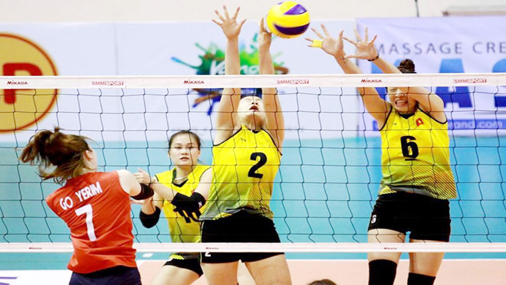 Vietnam in fifth place at Asian Volleyball Confederation Cup