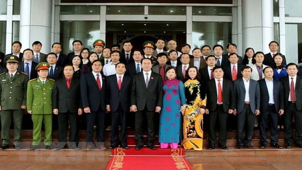 Tình cảm đặc biệt của Chủ tịch nước Trần Đại Quang với quê hương Ninh Bình