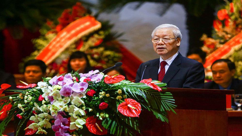 Tổng Bí thư Nguyễn Phú Trọng: Đổi mới, nâng cao chất lượng, hiệu quả hoạt động công đoàn trong tình hình mới