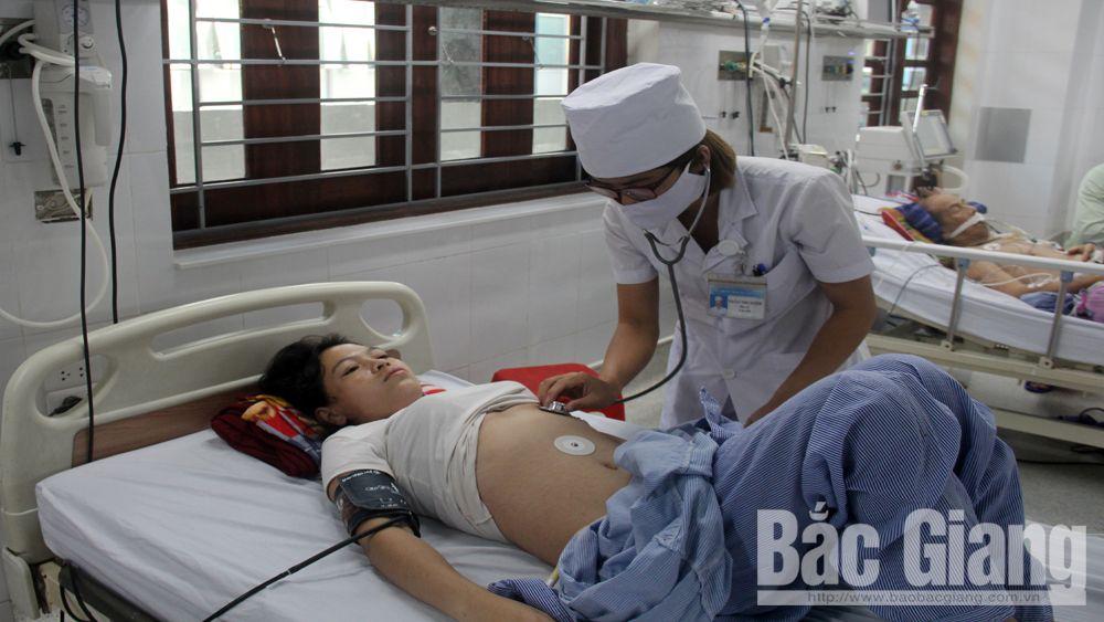 Bắc Giang: Cấp cứu 46 người bị ngộ độc thực phẩm tại Công ty TNHH EMW Việt Nam