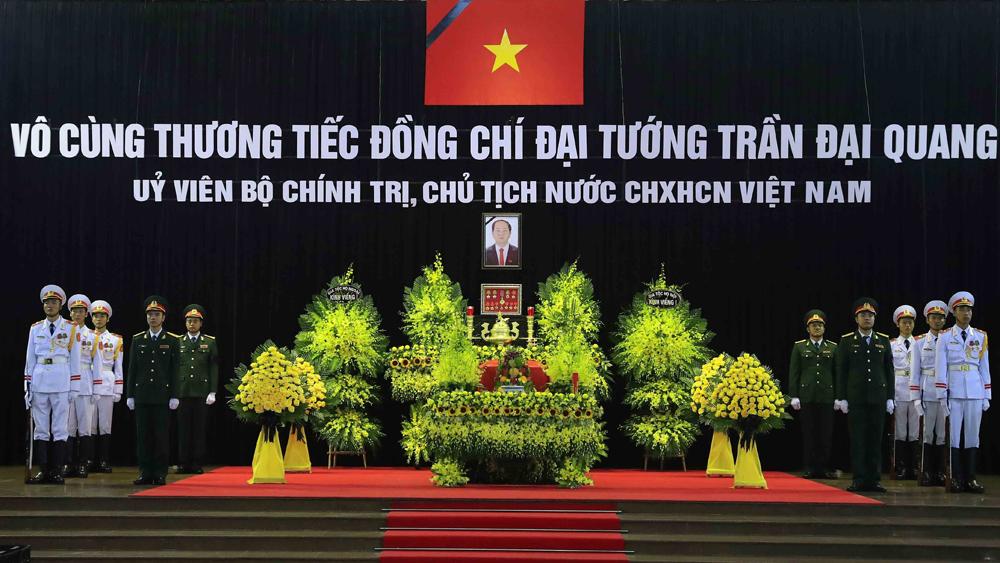 Lễ viếng chính thức Chủ tịch nước Trần Đại Quang