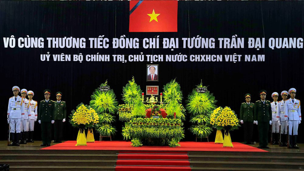 National funeral held for President Tran Dai Quang
