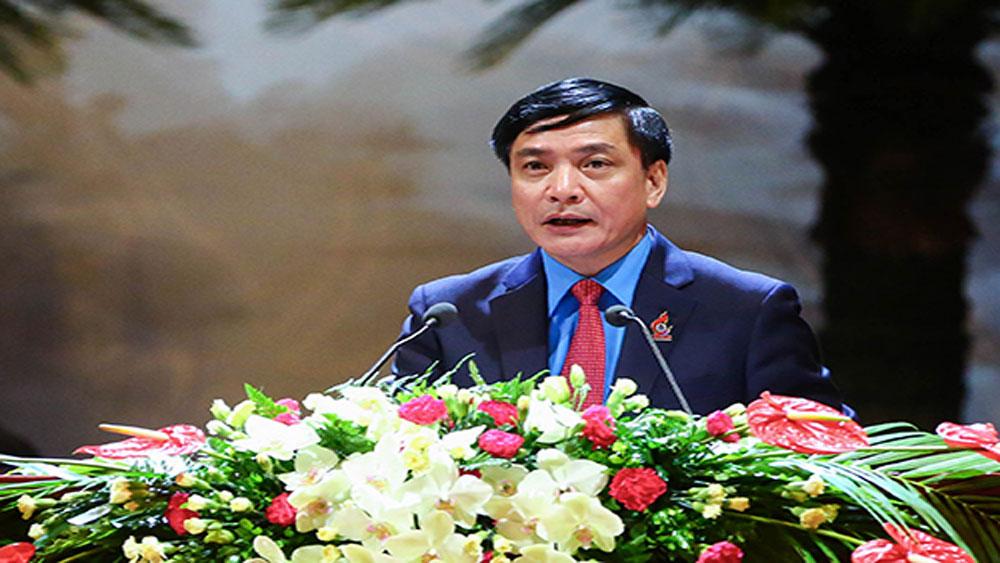 Ông Bùi Văn Cường tái đắc cử Chủ tịch Tổng Liên đoàn Lao động Việt Nam khóa XII