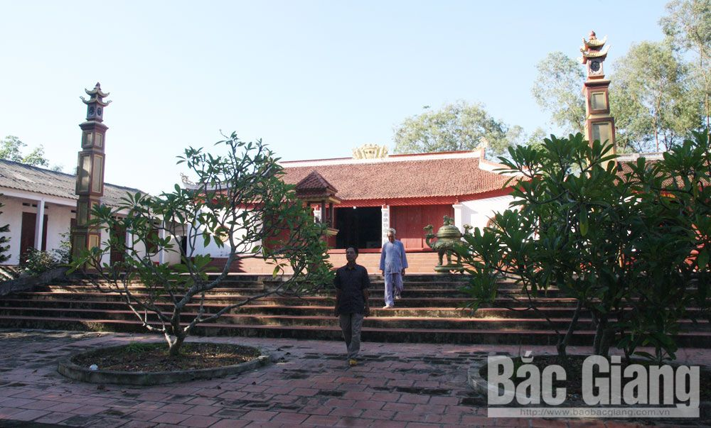 Bac Giang province, social resources, relic restoration, historical and cultural relics, Spacious works, community activities,