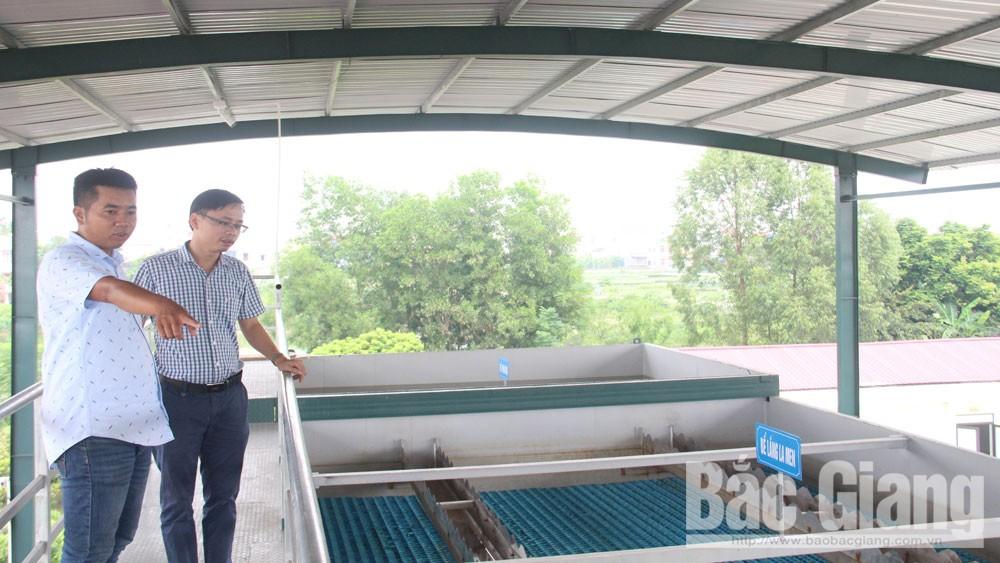 Hiệp Hòa: Doanh nghiệp đầu tư ba dự án nước sạch