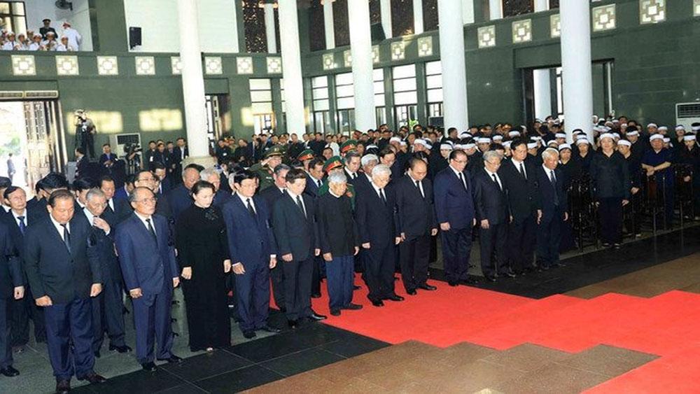 Truyền thông quốc tế đưa tin, ảnh Lễ viếng Chủ tịch nước Trần Đại Quang