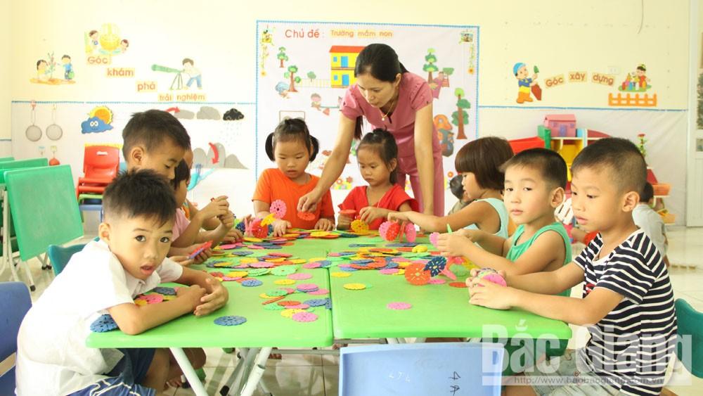 Lục Nam tuyển dụng 49 chỉ tiêu hợp đồng giáo viên mầm non