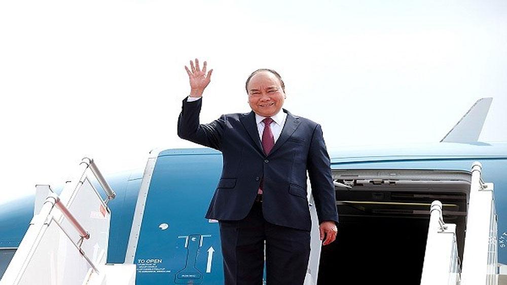 Thủ tướng Nguyễn Xuân Phúc đến New York tham dự phiên thảo luận chung Đại hội đồng LHQ