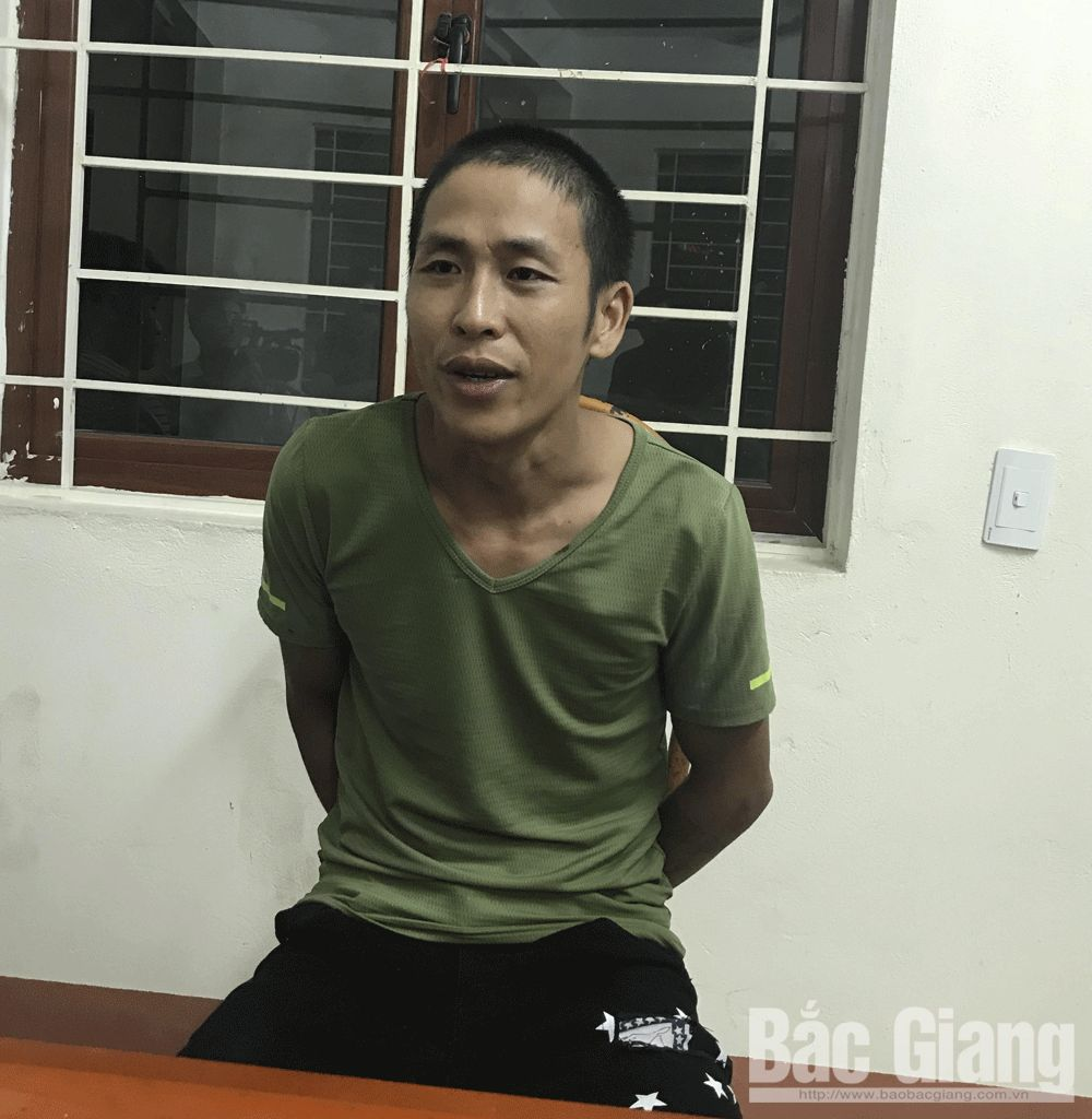 Bac Giang police, rescue hostage, Bac Giang province, Noi Hoang commune, Yen Dung district, Hoang Van Nghiem, initial information,