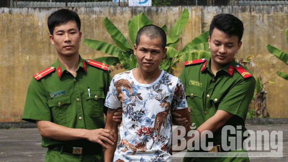 cướp tài sản, Tân Yên, Bắc Giang.
