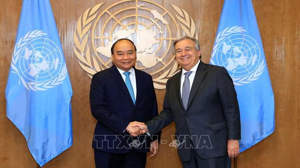 Đại hội đồng LHQ khóa 73: Thủ tướng Chính phủ Nguyễn Xuân Phúc tiếp xúc song phương nhiều quốc gia