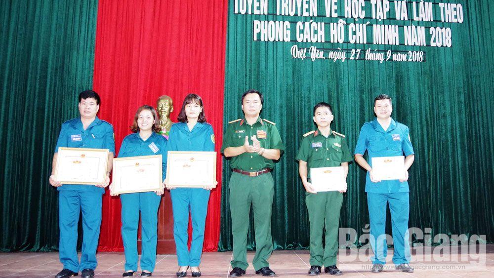 Hội thi tuyên truyền về học tập và làm theo phong cách Hồ Chí Minh