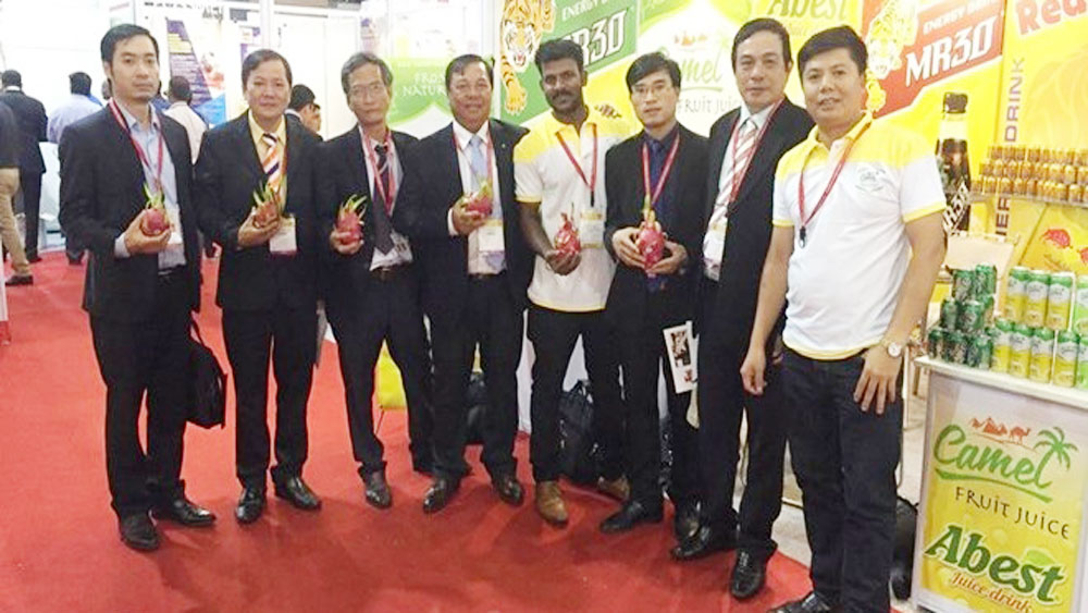Vietnam companies, farm produce, int'l food expo, India, food and beverage products, international trade fair, Vietnamese products
