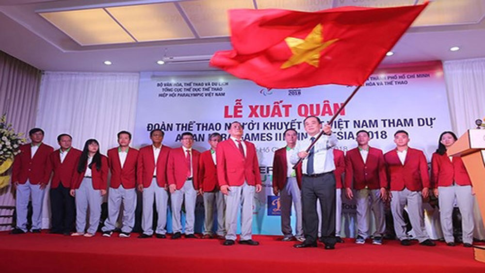 Send-off held for Vietnamese athletes going to Asian Para Games