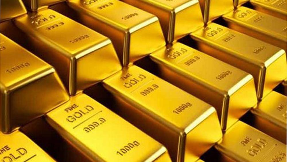 Giá vàng trong nước diễn biến ngược chiều với giá vàng thế giới