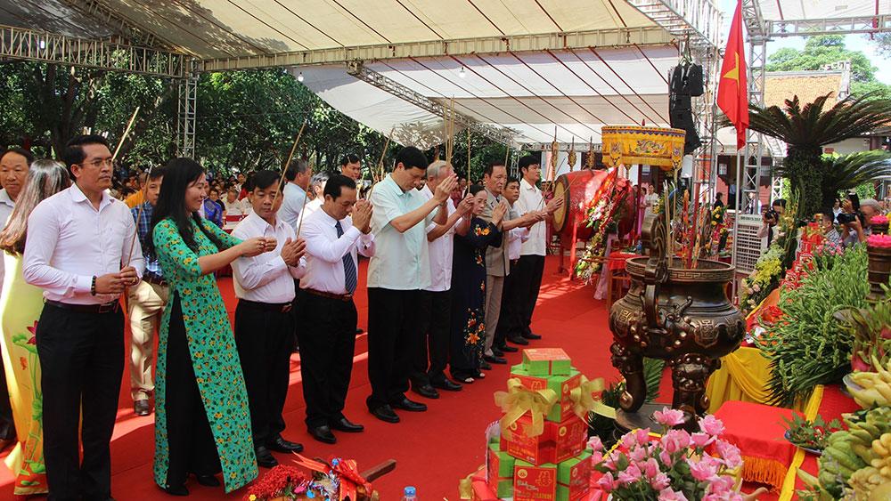 Quảng Ninh: Khai hội đền An Sinh 2018