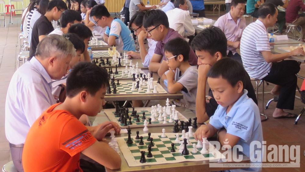 VĐV, giải vô địch cờ vua, cờ tướng và cờ vua học sinh TP Bắc Giang năm 2018, Bắc Giang, Bao Bắc Giang