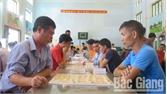 Gần 300 VĐV tham dự Giải vô địch cờ vua, cờ tướng và cờ vua học sinh TP Bắc Giang