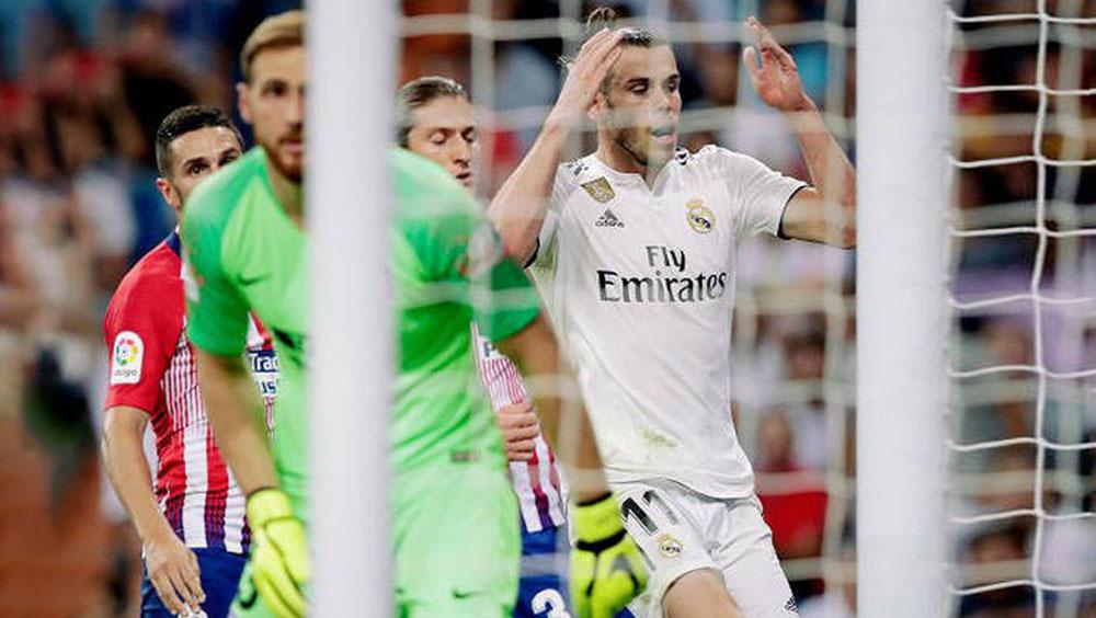 """Bale kém duyên, Real bị Atletico Madrid """"cầm chân"""" ngay tại Bernabeu"""