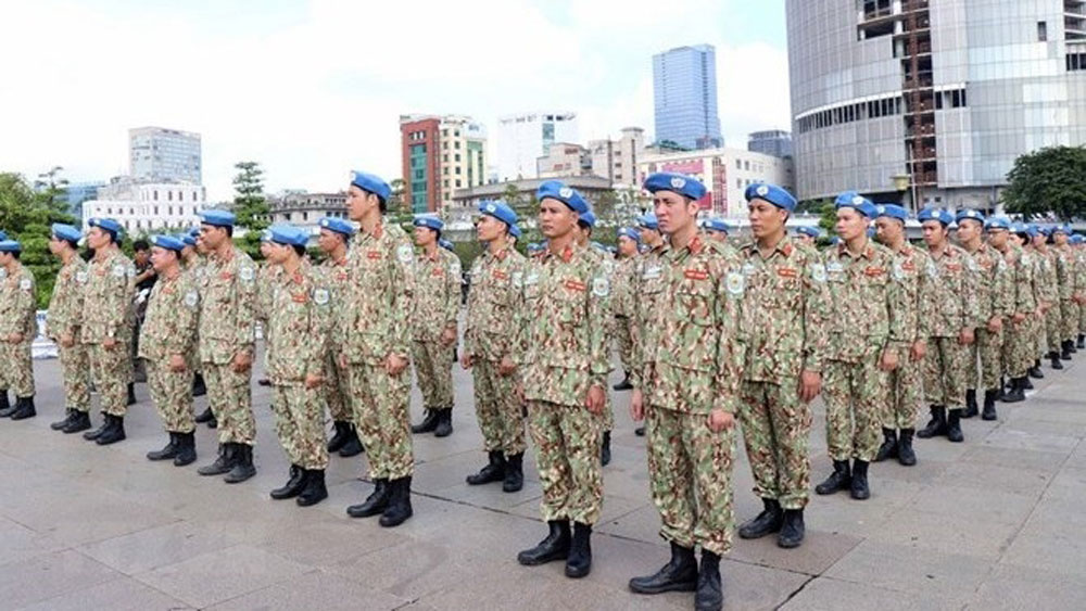 Vietnam's peacekeeping force, tasks, South Sudan, level-2 field hospital, peacekeeping mission, peacekeeping activities, international duties