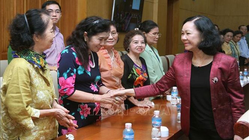 Former Vietnamese teachers in Thailand praised for preserving Vietnamese culture