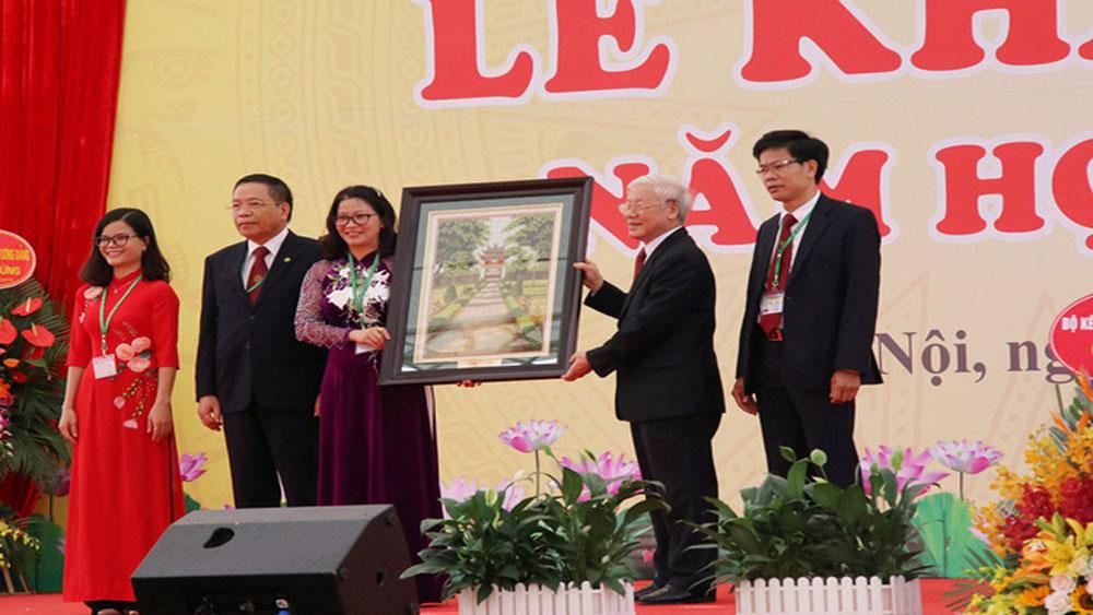 Dự Lễ khai giảng, Học viện Nông nghiệp Việt Nam, Tổng Bí thư, Nguyễn Phú Trọng