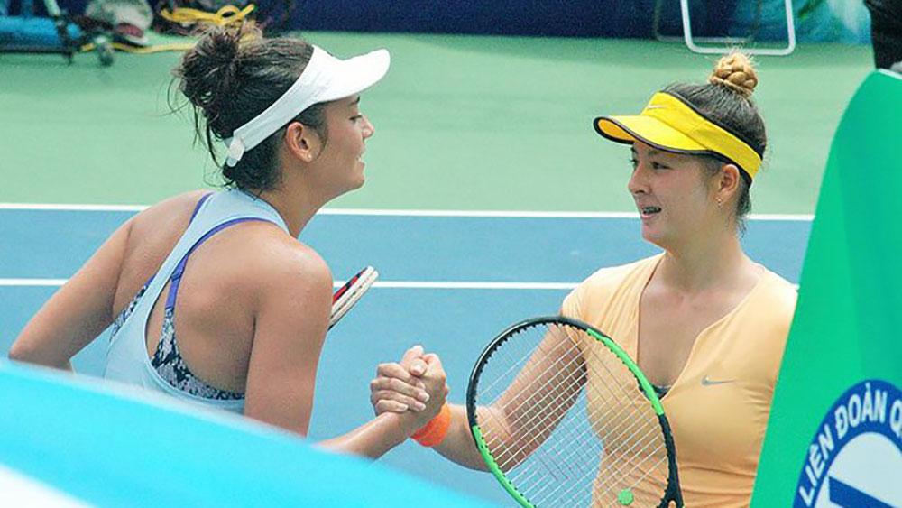 Bông hồng Alize Lim lên ngôi hậu quần vợt Việt Nam