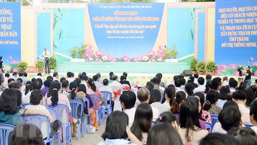 Life-long learning week launched in Ho Chi Minh City
